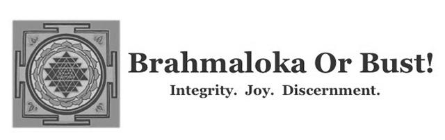 Brahmaloka or Bust Logo