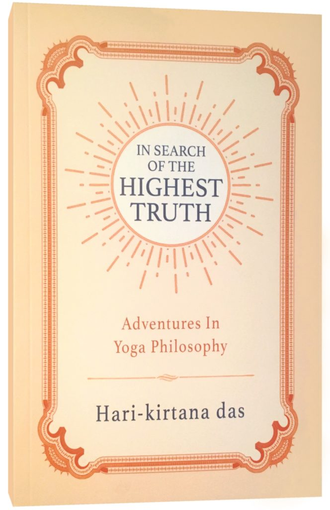 In Search of the Highest Truth by Hari-kirtana das book cover
